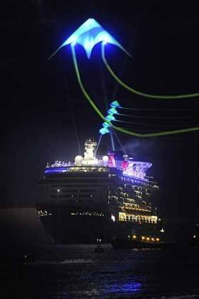Disney Dream Launch Kiteman Productions