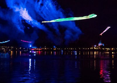Epcot Forever Kiteman Productions LED Kites