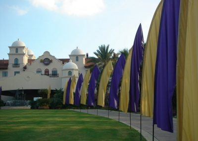 Hard Rock Hotel at Universal Orlando FL Kiteman Feather Banners™