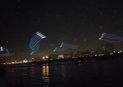 LED Kites from Kiteman at the 40th UAE National Day